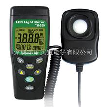 TM-209TM-209照度計 LED發光強度測試儀 LED光強儀