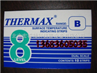 Thermax係列溫度試紙 變溫紙 溫度貼