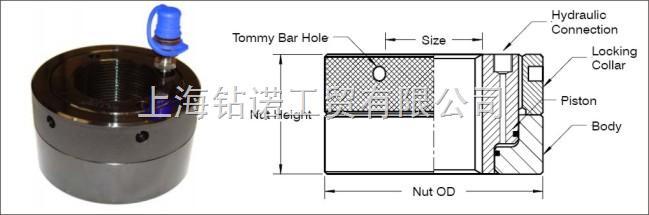 液压螺母可同步操作 高度低图片