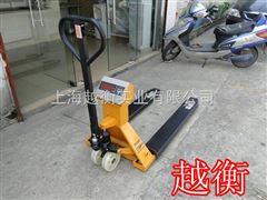 SCS上海1吨液压叉车秤,手动液压叉车电子秤价格,2T电子叉车秤供应