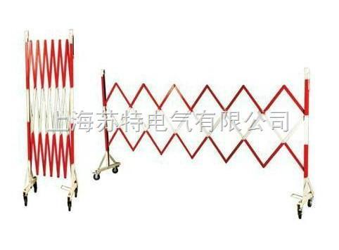 两端围栏支架中间部分为绝缘片