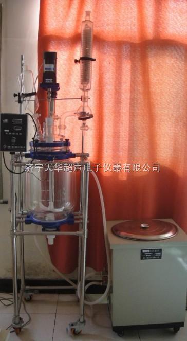 广西双层玻璃反应釜,南宁双层玻璃反应器型号