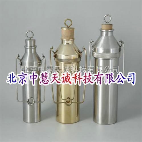 油品采样器/铜薄壁液体石油取样器/可卸取样器/薄壁加重式采样器 型号:SZH-1000