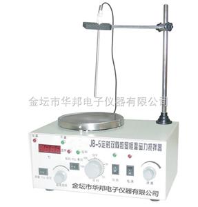 JB-5定时双向电子数显恒温磁力搅拌器