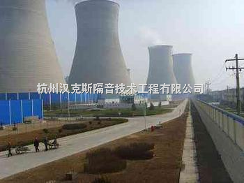 自然通风冷却塔噪声产生的机理火电厂自然通风冷却塔