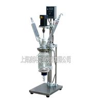 S212-3L双层玻璃反应釜厂家报价