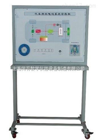 汽车燃料电池(氢气)系统示教板|汽车新能源教学设备