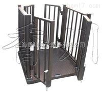 赣州3吨带门动物电子称报价带护栏动物地磅秤厂家