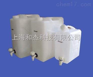 25l长方形纯水的储存分配水桶桶侧边底部有出水口及