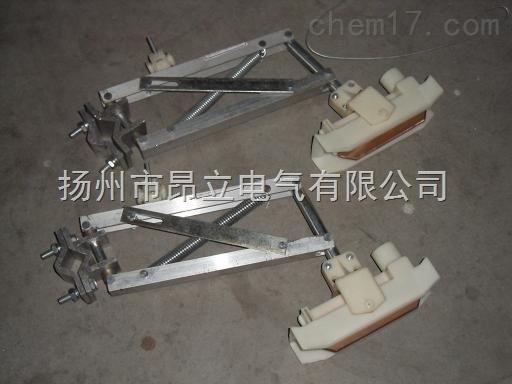 H型单极滑触线集电器