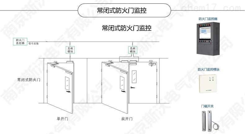 电气火灾监控系统 一体式电气火灾监控探测器 > fd(wdz)01-4pm防火门