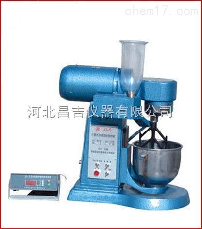 水泥胶砂搅拌机生产厂家