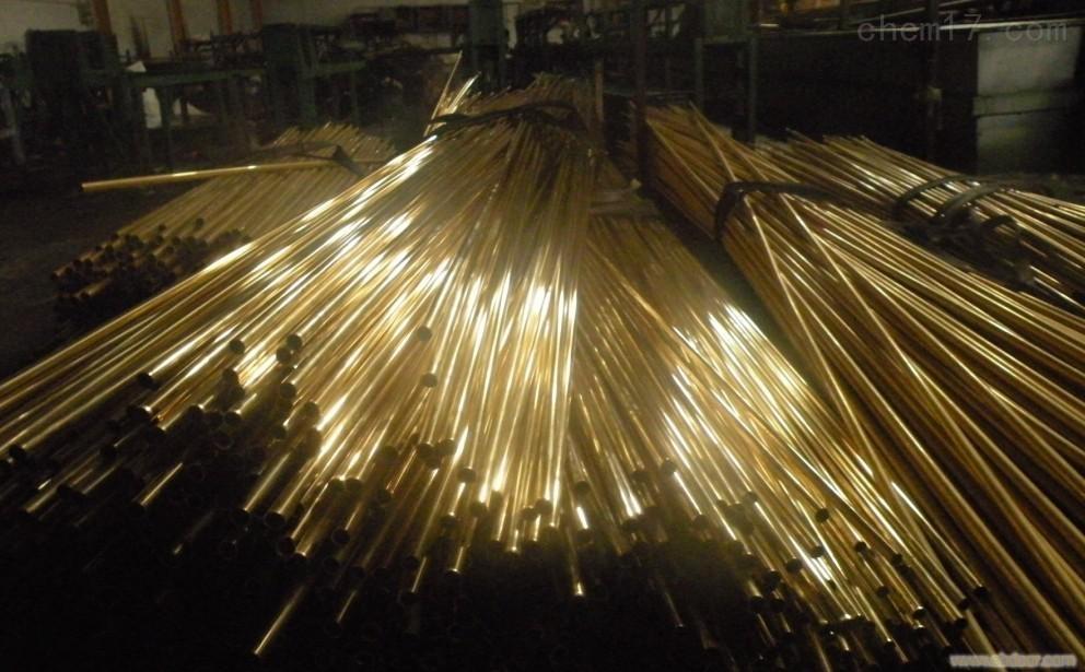 宁波70-1冷凝器黄铜管,船舶用Hsn70-1A锡黄铜管价格