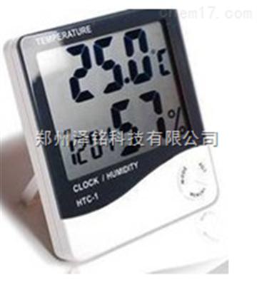 HTC-1家庭、办公室便携式数字显示温湿度计*