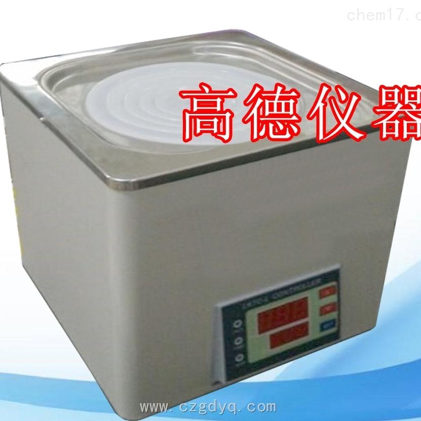 单仓电子恒温水浴锅