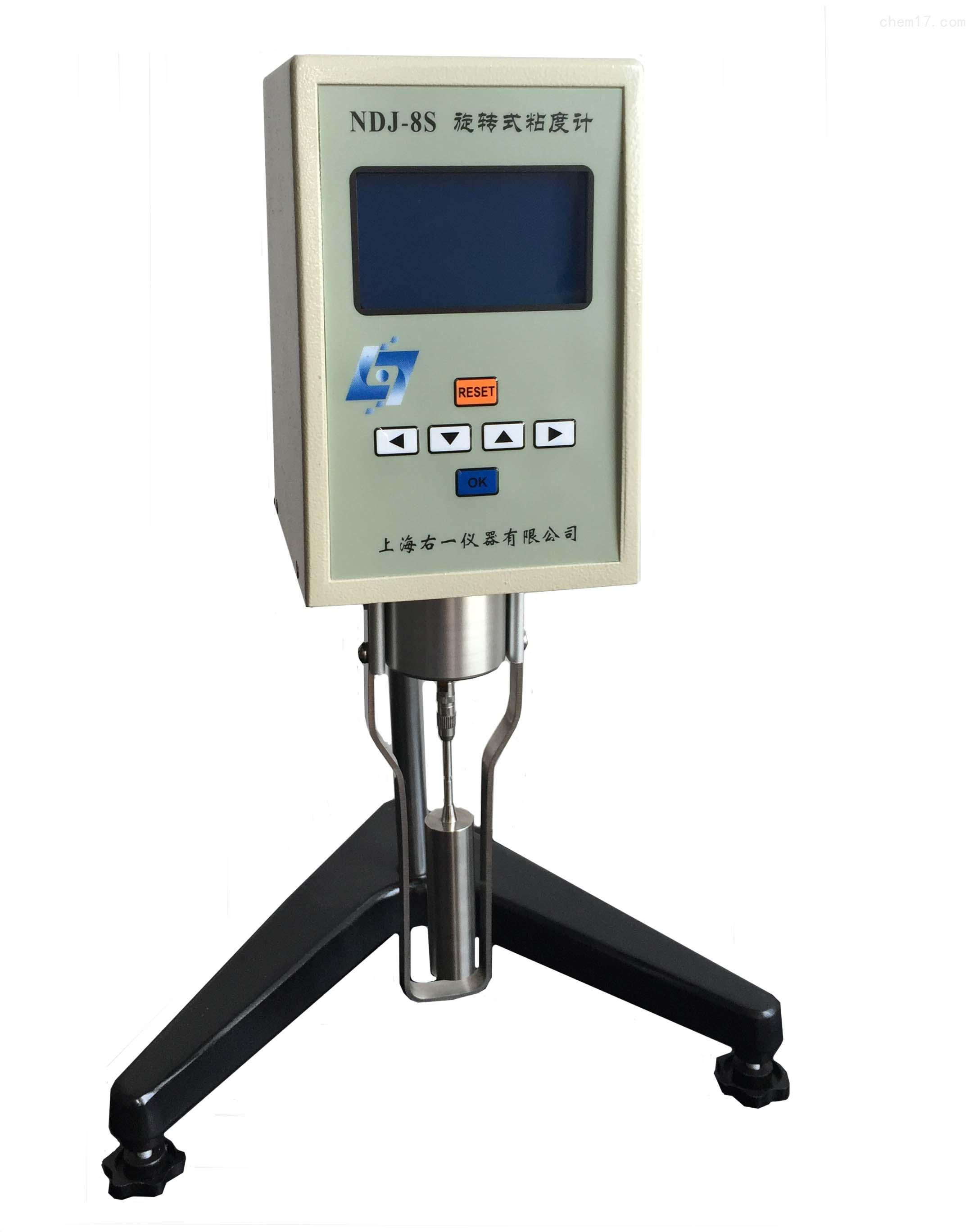 數顯旋轉粘度計NDJ-8S,大屏膜液晶顯示