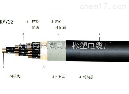 天津小猫牌KVVP-450/750V屏蔽控制电缆10*0.75