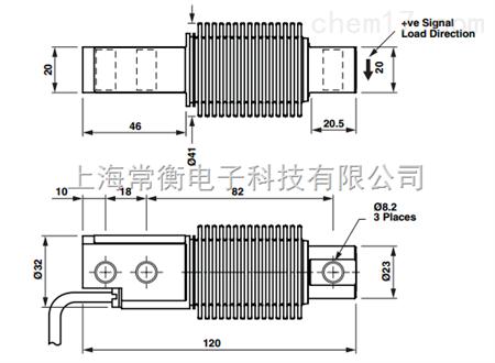 355系列 美国tedea特迪亚355不锈钢称重传感器5-500kg