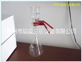 3900气相色谱仪专用 滕州瑞能 溶剂过滤器 实验室必备砂芯过滤装置