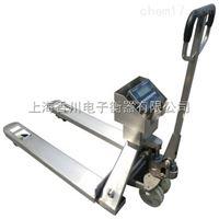 嘉善供应304材质不锈钢叉车秤本安型防爆叉车电子秤