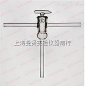 上海曼贤实验仪器玻璃仪器三通双支真空活塞。