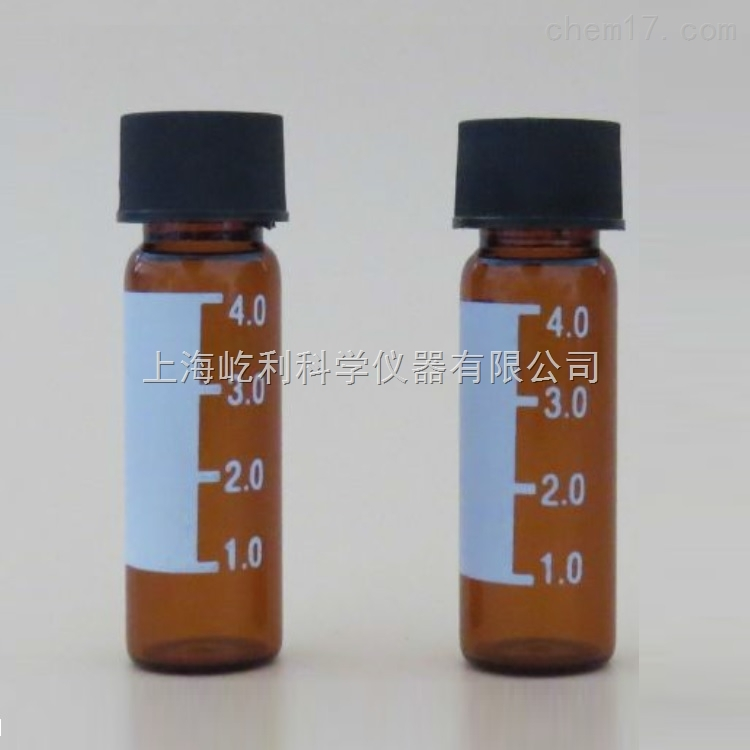 45*14.7mm 100/包 ELAB-V1301 4ml螺紋透明樣品瓶 上海AG8亚游集团