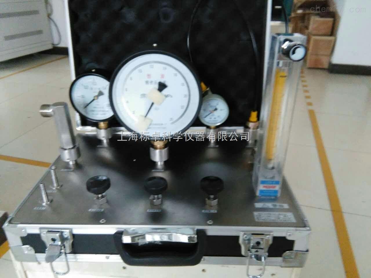 浮标式氧气吸入器校验台