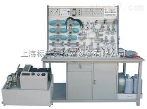 插孔式铁桌液压PLC控制实验台|液压与气动实训装备