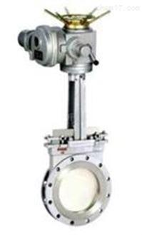 铸钢电动刀型闸阀