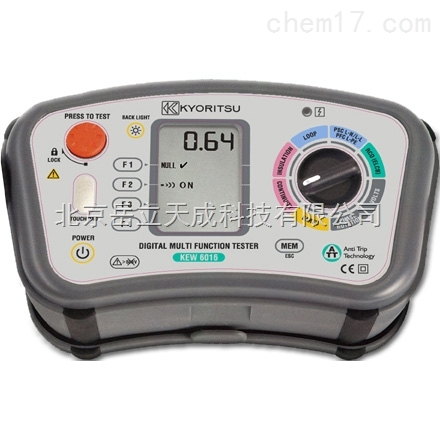 供应日本共立多功能测试仪KEW 6016