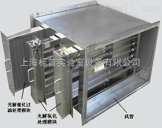 ST-A型气体净化器 (栅隔板式)|气体吸收净化治理实验设备