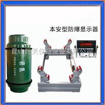 江阴3吨防爆钢瓶秤,防爆隔爆氯气钢瓶电子秤