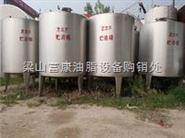 厂家二手不锈钢酒精储罐低价供应