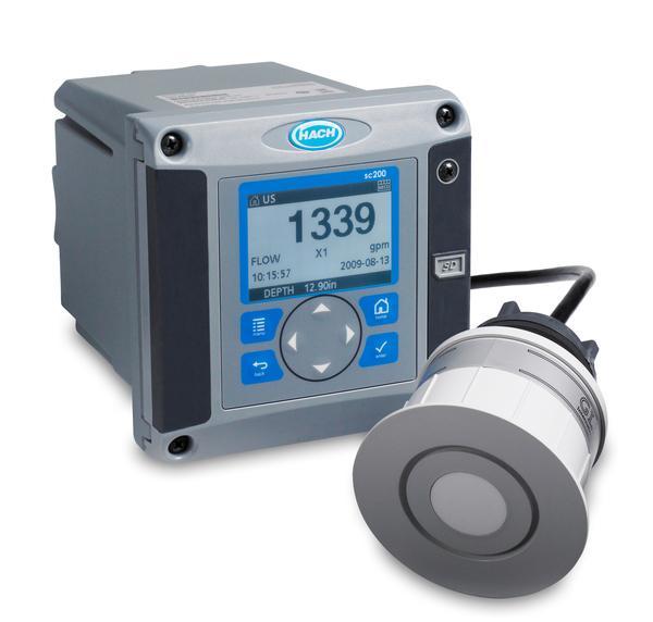 sc200控制器 超声波明渠流量计