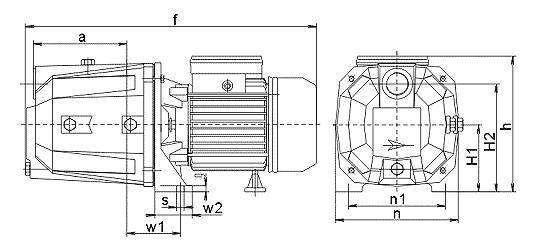 三相压力表水泵自动控制电路图
