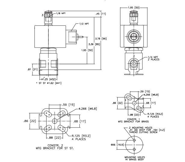 通电阀体就会被吸引到哪边,asco阿斯卡三位五通电磁阀通过控制阀体的图片