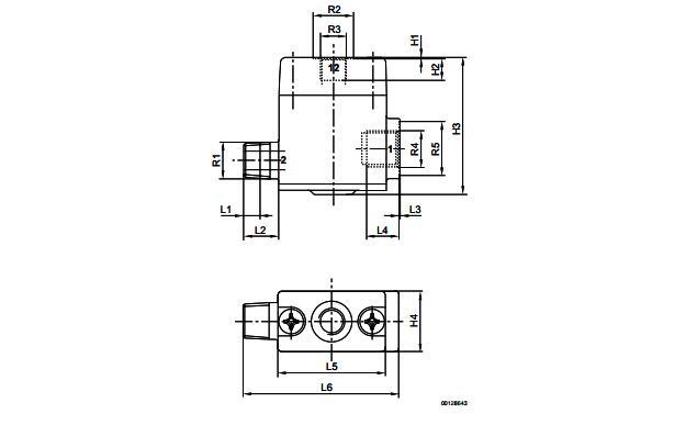 rexroth先导式单向阀线路安装说明5340050010图片