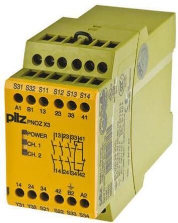 pilz继电器 pnoz x3 24v 774310 德国皮尔兹安全继电器