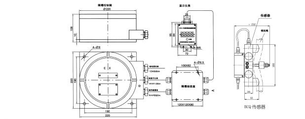 限位开关 > 限位开关|bqg-fb-1型单梁防爆起重量限制器  bcq-fb-1型