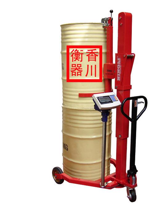 油桶搬运称手动液压油桶搬运车秤市场价格