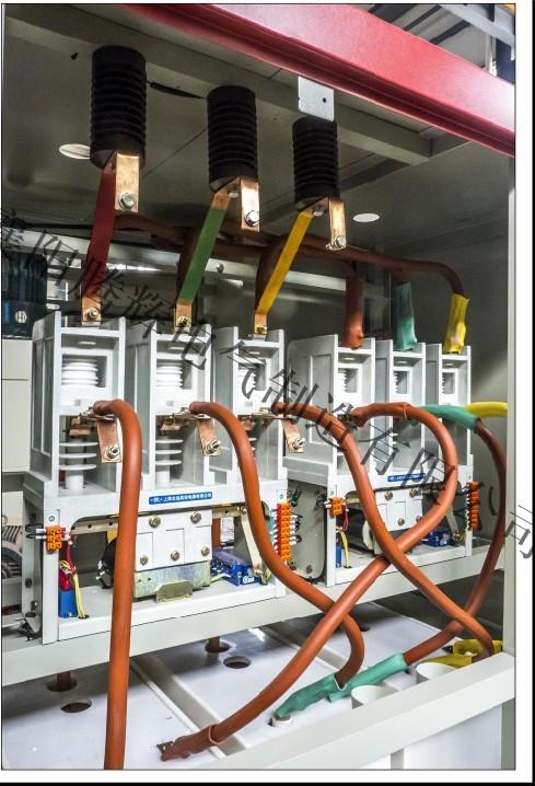 水阻柜行程开关往反控制电路图