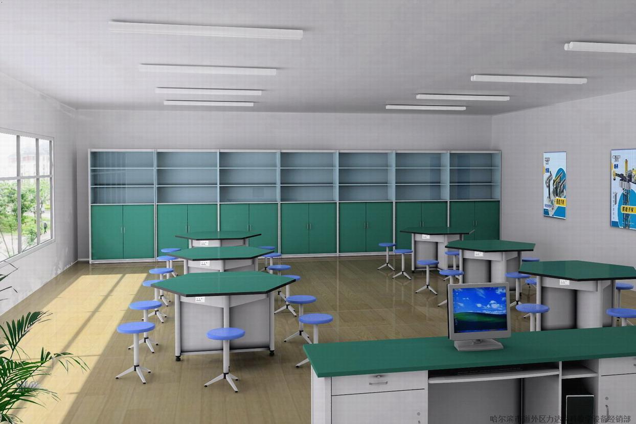 均将建科学实验室