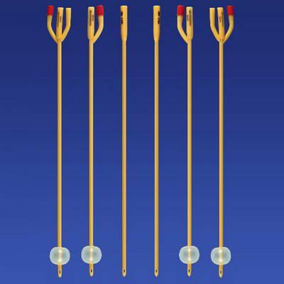 三腔导尿管结构 原理 示意图