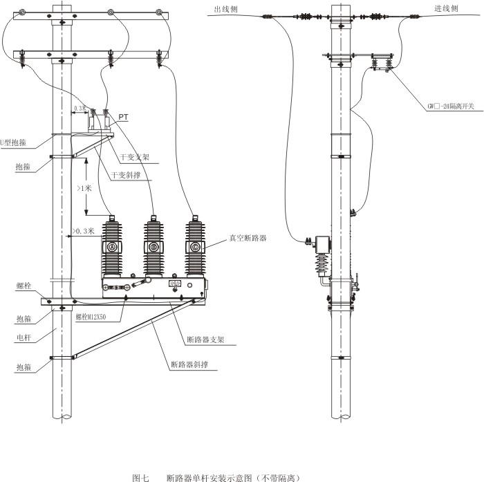 zw32-12-三相真空断路器