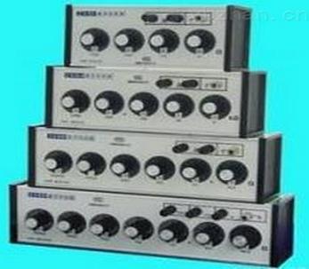 1 zx95e直流电阻箱为串联的十进盘所组成的多阻器,两接线柱之间的电阻