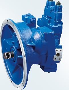 用于安装齿轮泵和轴向柱塞泵: 动力输出装置 功率越权控制 液压行程限图片