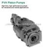 VICKERS轴向柱塞泵:PVB5 .PVB6