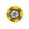 |美国omega五格圆形测温纸|TL-C5圆形测温纸