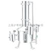 SHZ32-100不锈钢塔式蒸汽重蒸馏水器/上海申安不锈钢蒸汽重蒸馏水器