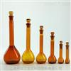 V2861芯硅谷 棕色容量瓶,带玻璃塞,高硼硅料,5ml-2000ml